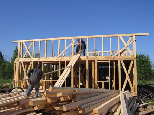 Этапы строительства дачного домика своими руками